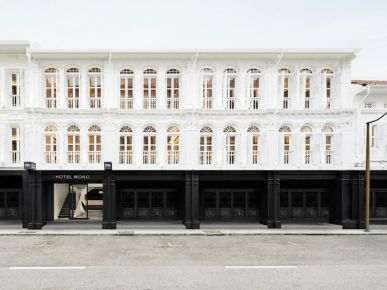 Trendy architektura: hotel monochromatyczny