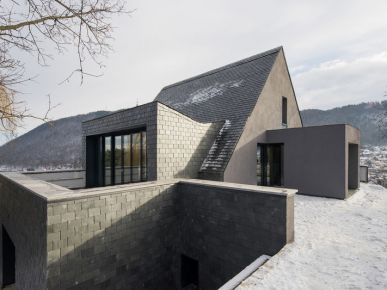 Trendy w architekturze: Dom w Rumunii