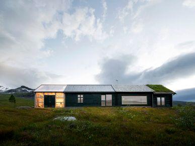 Designerski dom na norweskiej wsi