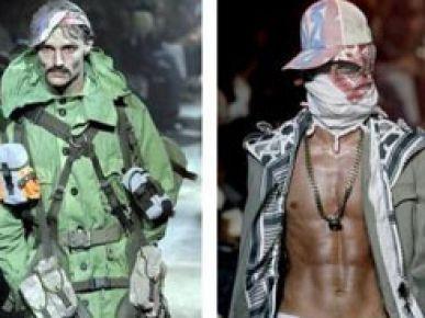 John Galliano. Kolekcja wiosna 2008. Najwięksi projektanci mody.