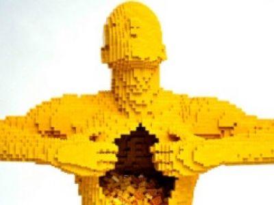 Dzieła sztuki z klocków Lego