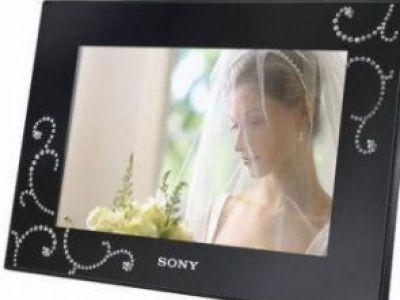 Kryształowe ramki Sony