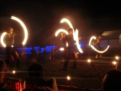 Tancerze ognia!
