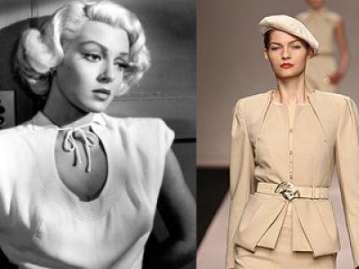Eleganckie i ekstrawaganckie lata 40-te