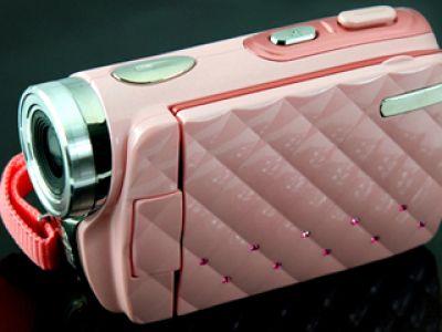 Różowa kamera dla nastolatek