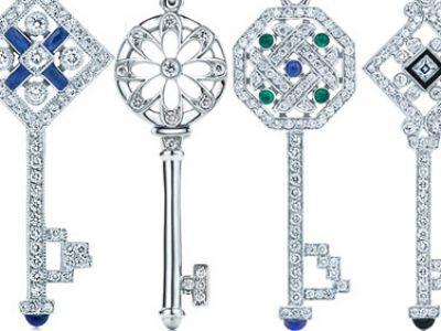 Diamentowe klucze Tiffany