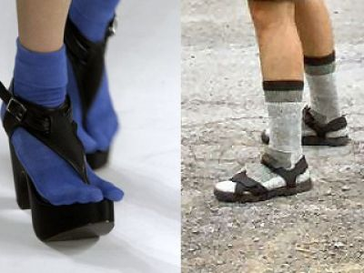 Skarpetki do sandałów, hit czy kit?