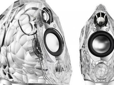 Przeźroczyste głośniki