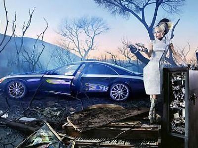 David LaChappelle dla Maybach
