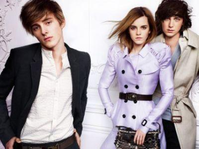 Emma Watson- nowa kampania Burberry!