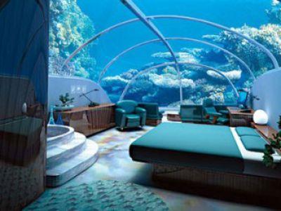 Hotel pod wodą