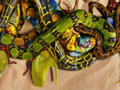 Wężowa kolekcja Alexander McQueen