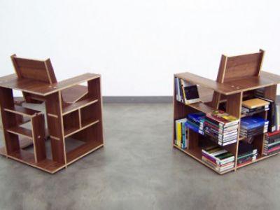 Książkowe krzesło