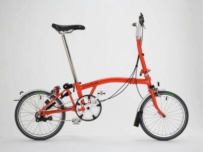 Brompton- funkcjonalny rower