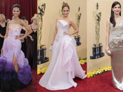 Moda na Oscarach 2010
