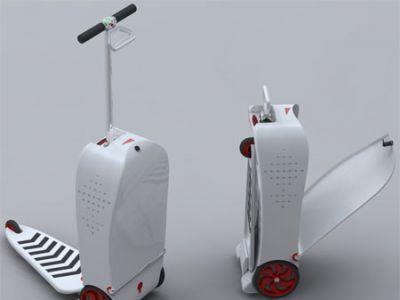 Elektryczna walizka dla osób w ciągłej podróży