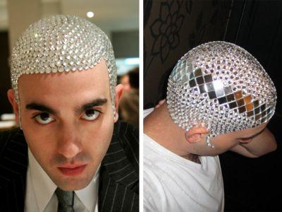 Nowy trend-dekoracja głowy