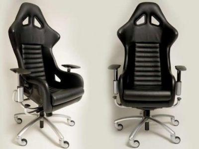 Fotel biurowy od Ferrari