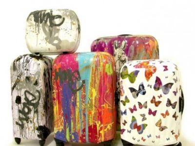Kennyradom- graficzne walizki od Samsonite