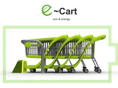 Ekologiczny wózek na zakupy