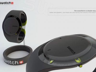 Zegarek koncepcyjny od Swatch