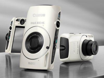 Minimalistyczny Canon IXUS 300
