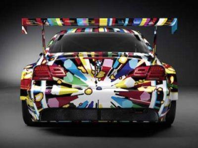 Siedemnasty BMW Art Car, Jeffa Koons