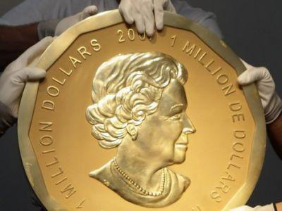 Największa moneta na świecie sprzedana!