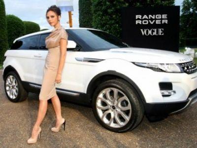Victoria Beckham projektantką Range Rover