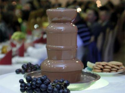 Czekofon - czekoladowe fontanny