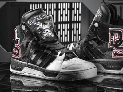 Gwiezdne Wojny na planecie Adidas