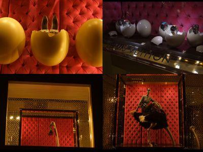 Struś&Louis Vuitton