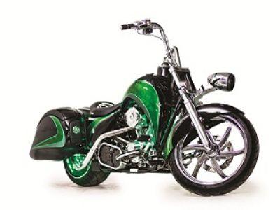 Hybrydowy motocykl Schneider Electric i Orange County Choppers