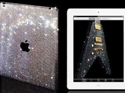 Okryj iPada2 kryształami