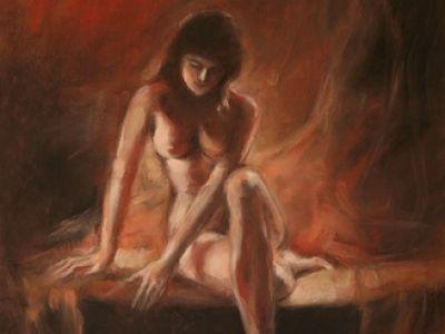Piękno kobiecego ciała przelane na papier...