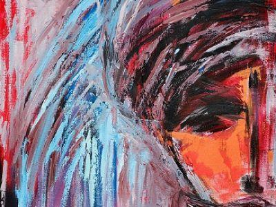 Iza Kostiukow i jej malarstwo z duszą!