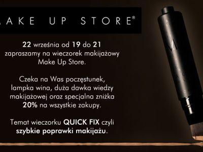 Trendz zaprasza na wieczór makijażowy marki Make Up Store