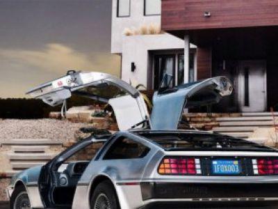Powrót do przyszłości! DeLorean DMC-12 z elektrycznym silnikiem!!!
