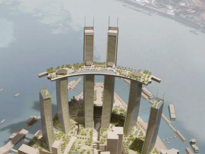 Chongqing Chaotianmen - projekt Safdie Architects
