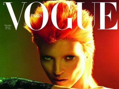 Kate Moss moves like... David Bowie
