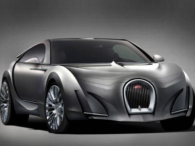 Nowe Bugatti Super-sedan