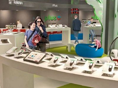 Nowy multimedialny salon Plusa