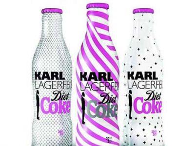 Butelka Coli od Karla Lagerfelda