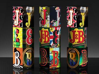 Limitowana seria opakowań J&B