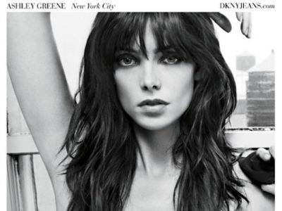 Ashley Greene nową twarzą marki DKNY