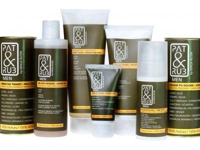Naturalne kosmetyki dla mężczyzn od PAT&RUB