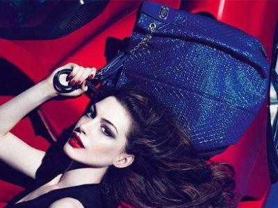 Anne Hathaway po raz kolejny twarzą marki TOD'S
