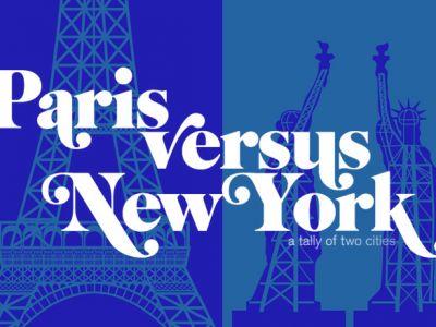 Paryż vs Nowy Jork