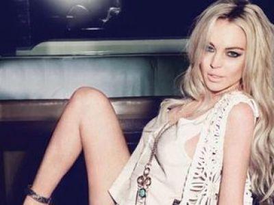 Lindsay Lohan dla JAG
