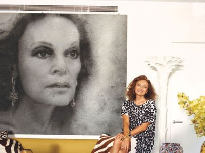 W domu u Diane von Furstenberg